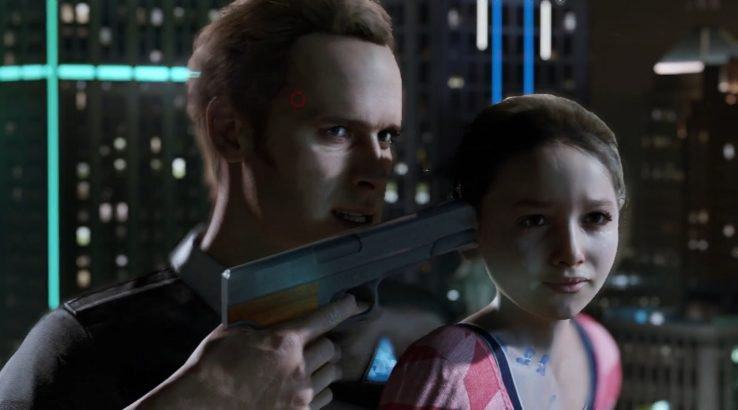 Detroit: Become Human Twitter Takes Jab at Xbox One - Android hostage